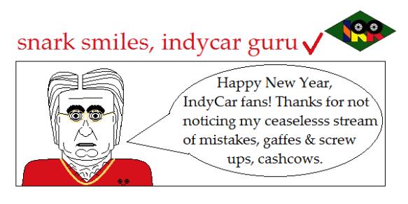 snark smiles indycar guru