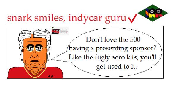 snark smiles indycar guru3