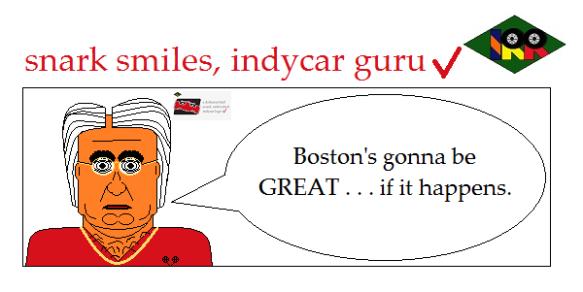 snark smiles indycar guru4