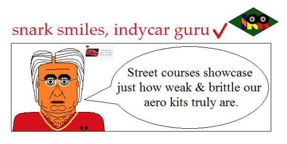 snark smiles indycar guru5
