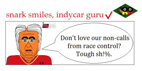 snark smiles indycar guru8