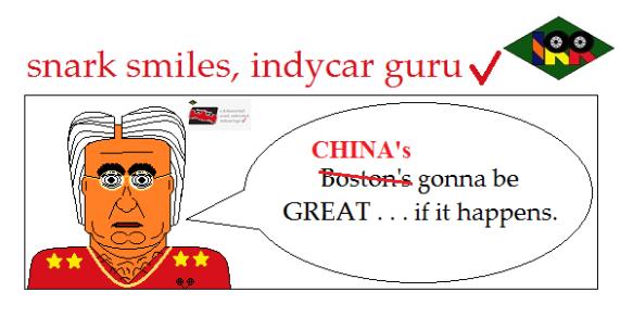 snark smiles indycar guru9
