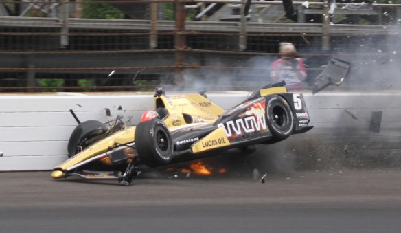 AP INDYCAR INDY 500 AUTO RACING S CAR USA IN