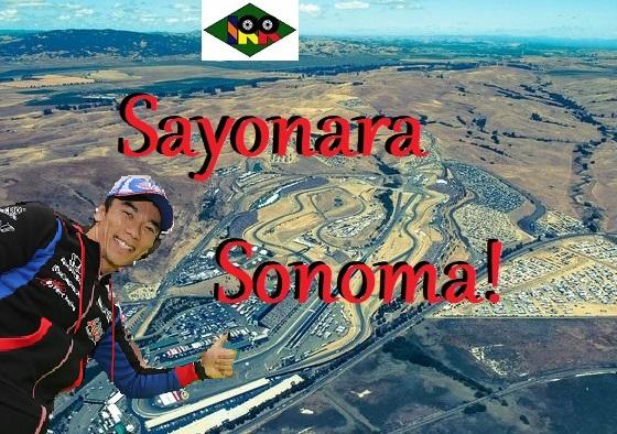 Sayonara Sonoma!